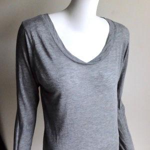 Alexander Wang Long Sleeve Cotton Pullover sz L